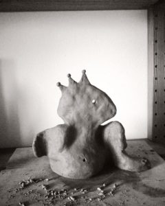My first clay sculptures :_1